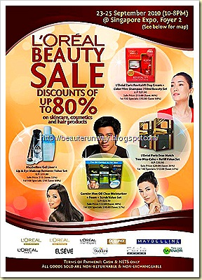 l'oreal sale - consumer division sep