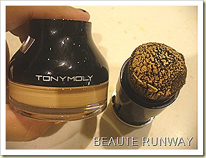 Tony Moly Whipped Bb Cream and brush