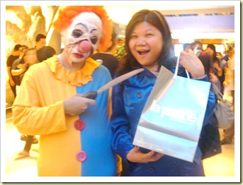 My La Prairie ! Topshop ION Orchard - Night Safari Halloween Horrors