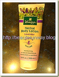 Kneipp Lavender Body Lotion