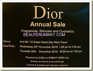DIOR SALE - Makeup, skincare fragrances
