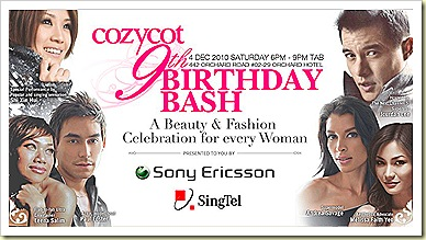 CozyCot 9th Birthday !