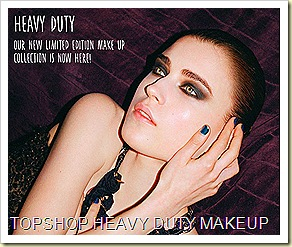 Topshop Heavy Duty Makeup 2010