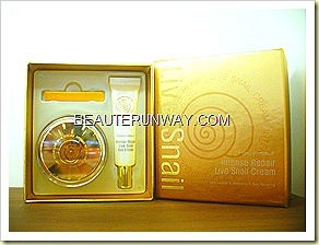 Tony Moly Intense Repair Live Snail Cream & Eye set