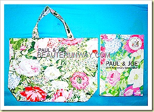 Paul & Joe tote bag floral spring