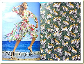 Paul & Joe 2011 Spring Summer