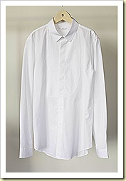 Uniqlo  J Spring 2011 White Shirt