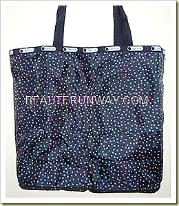 LeSportsac tote bag stardust 2011
