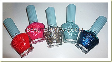 Paul & Joe Summer 2011 Nail Enamels Limited Edition Blue Horizon