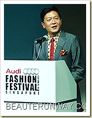 Audi Fashion Festival Chairman Dick Lee