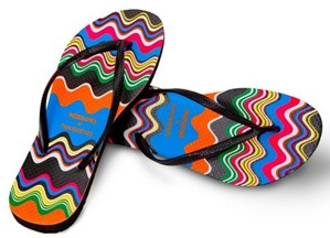 Missoni Havaianas Flip Flops In Singapore