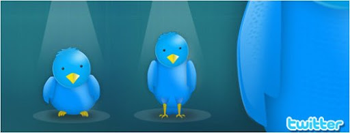 Twitter Bird Photoshop psd graphic