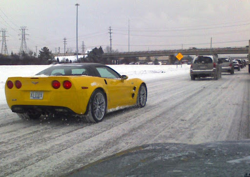 Tis The Season Another Z06 Driving In The Snow Page