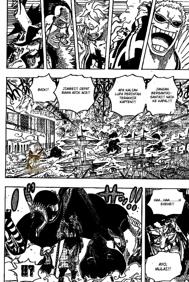 One Piece page 04