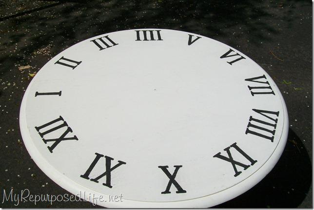 faux clock