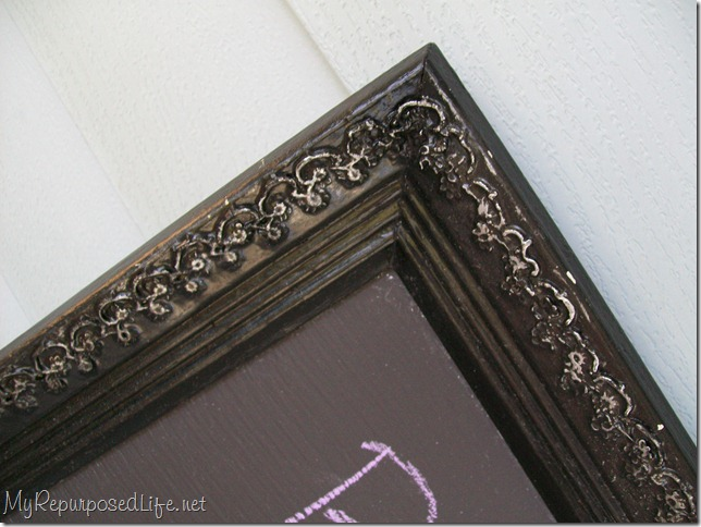 thrift store frame with detail