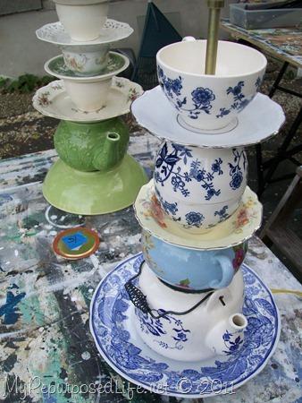 teapot lamps MyRepurposedLife.com