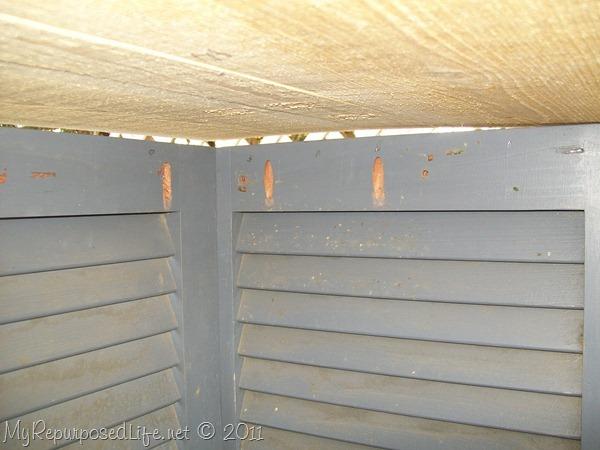 shutters repurposed bookshelf (15)