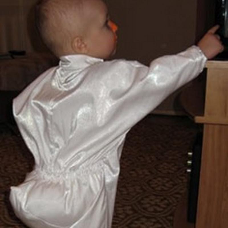 Disfraz de ganso para niño