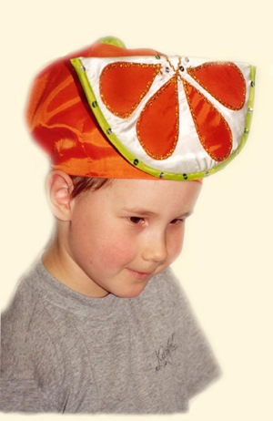 ideas para disfraz casero de naranja