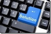 solving-a-problem-with-solution-button-on-computer