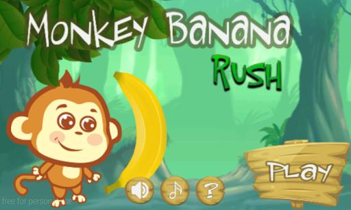 Monkey Banana Rush