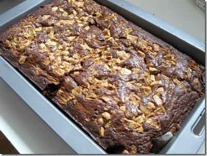 Baking Makes Things Better Caramel Brownie