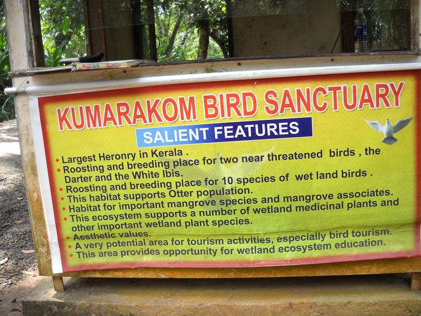 Why visit Kumarakom Bird Sanctuary