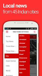 The Times of India News- screenshot thumbnail