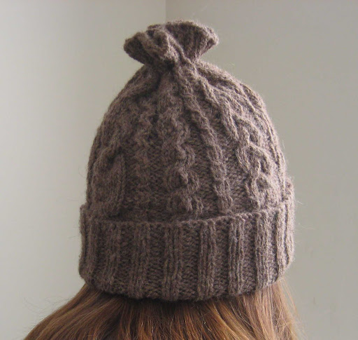 246be116e20 ChemKnits  14 Cable Hat Knitting Pattern