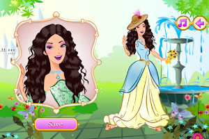 Screenshot of Happy Princess Makeover Salon