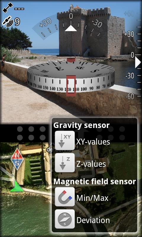 AR GPS Compass Map 3D Pro - screenshot