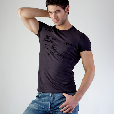 sexy model jeans and tshirt daily male models
