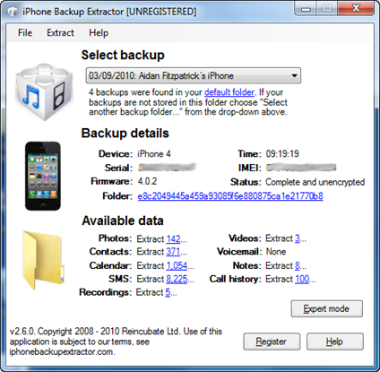 how to delete backup on itunes ipod