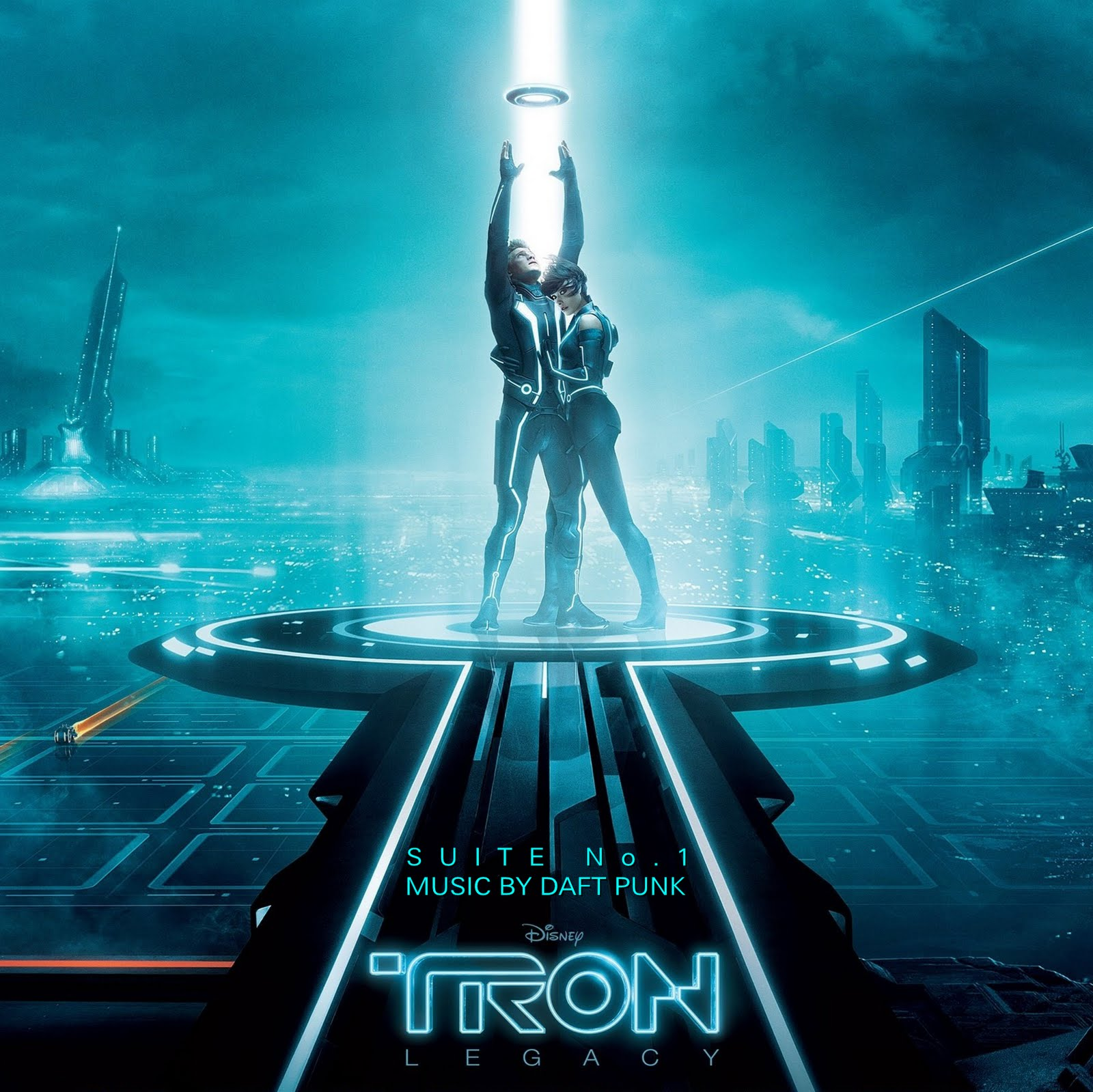 le blog de chief dundee: tron legacy suites no.1 & no.2 - daft punk