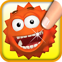 Hungry Balky Ball: Jump 4 Food mobile app icon