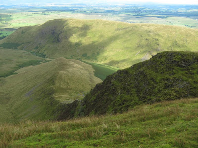 From Bannerdale Crags towards Souther Fell