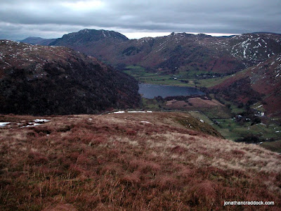 Looking over High Hartsop Dodd to Brothers Water