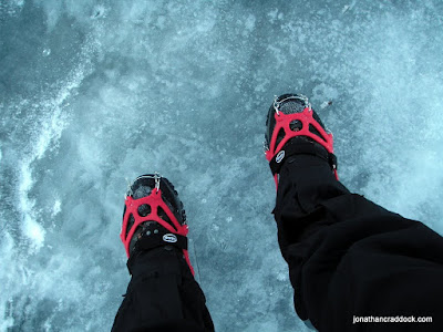 Pogu Spike on water ice