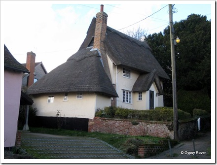 Nicely restored residence in the beautiful village of Kersey, Suffolk.