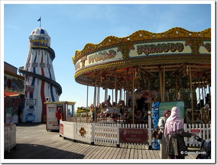 £1 per token. This is the cheapest ride on the pier.