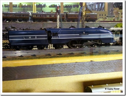 "Brighton's Toy and Model Museum. ""0"" gauge ""Coronation Scot""."
