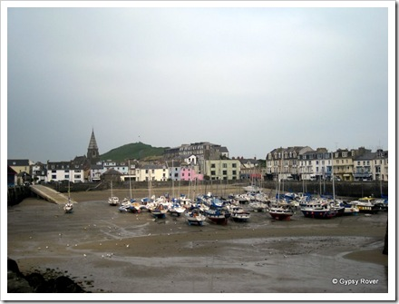 Ilfracombe harbour.