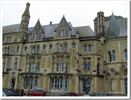 The Old College, Aberystwyth University.