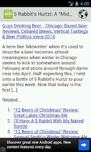 Beer News - screenshot thumbnail