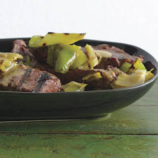 Grilled Steak and Peppers Vinaigrette.