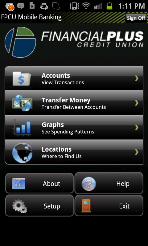 Financial Plus Credit Union - screenshot