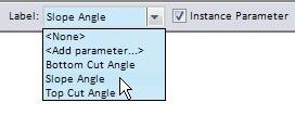 dimension parameter