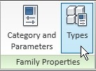 Revit family properties panel