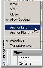 anchor option